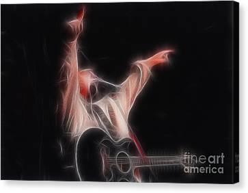 Tim Mcgraw Ga22 - Fractal Canvas Print by Gary Gingrich Galleries