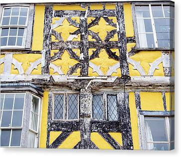 Timber Framed House Canvas Print