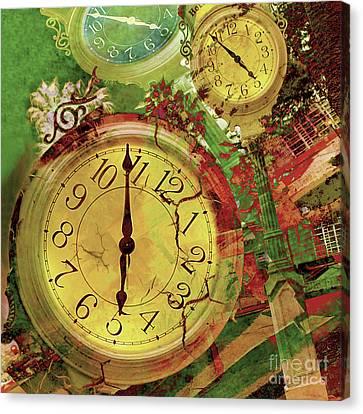 Time 6 Canvas Print by Claudia Ellis