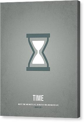 Time Canvas Print by Aged Pixel