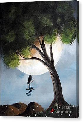 Time Alone By Shawna Erback Canvas Print