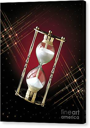 Time And Space Canvas Print by Gary Gingrich Galleries