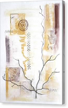 Time Branching Canvas Print by Diana Perfect