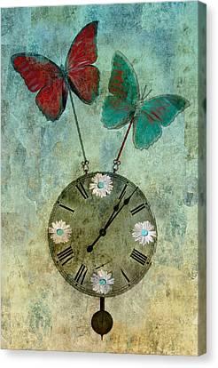 Time Flies Canvas Print by Aimelle
