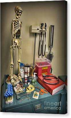 Time For A Checkup - Doctor Canvas Print by Lee Dos Santos