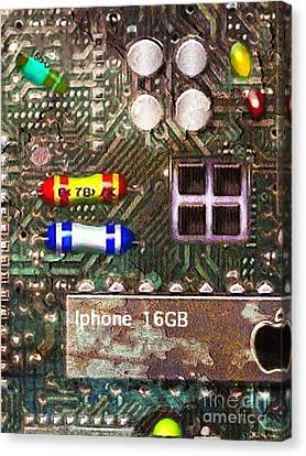 Time For An Iphone Upgrade 20130716 Canvas Print by Wingsdomain Art and Photography