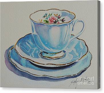 Time For Tea Sold Canvas Print