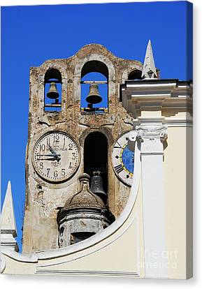 Time For The Bells Canvas Print by Mel Steinhauer
