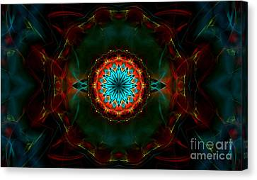 Time Gate Canvas Print by Hanza Turgul