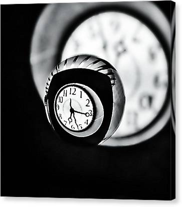 Time Is Up... Canvas Print by Marianna Mills