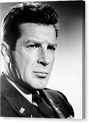 Time Limit, Richard Basehart, 1957 Canvas Print by Everett