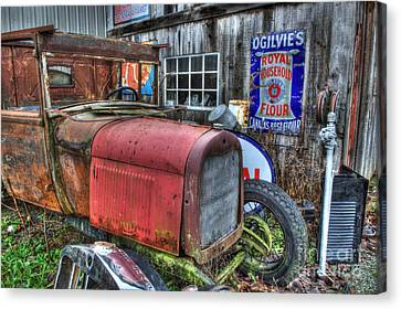 Time Marches On Canvas Print by Bob Christopher