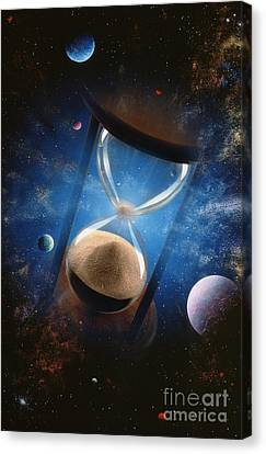 Time Canvas Print by Mike Agliolo
