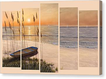 Time Of My Life - 5 Pc Set  Canvas Print