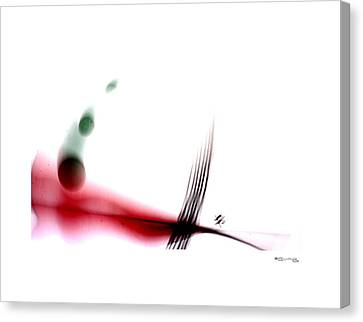 Time On A String 9 Canvas Print by Xoanxo Cespon