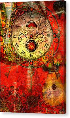 Time Passes Canvas Print by Ally  White