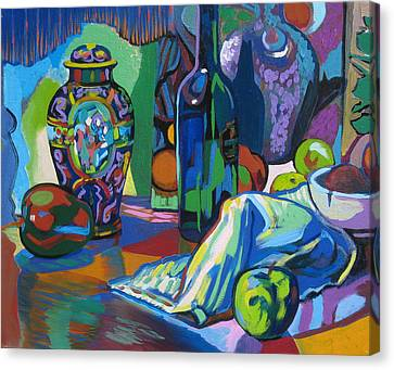 Canvas Print featuring the painting Time Regained by Clyde Semler
