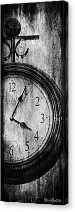 Time Canvas Print by Sheena Pike