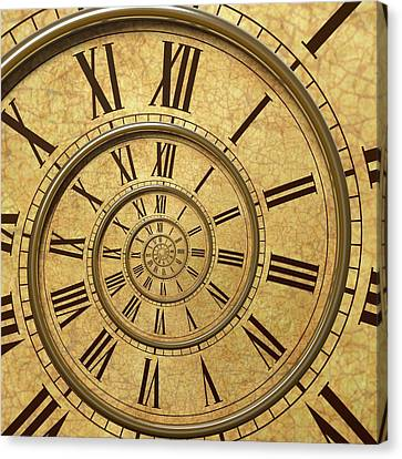Time Spiral Canvas Print by David Parker