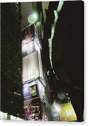 Time Square In Nyc Canvas Print