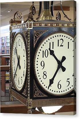 Time Suspended Canvas Print by Scott Kingery