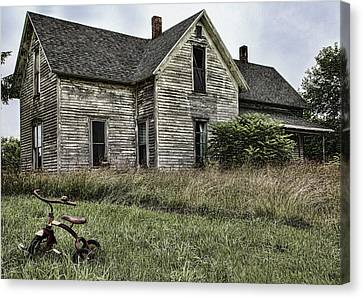 Time To Come Inside Canvas Print by John Crothers