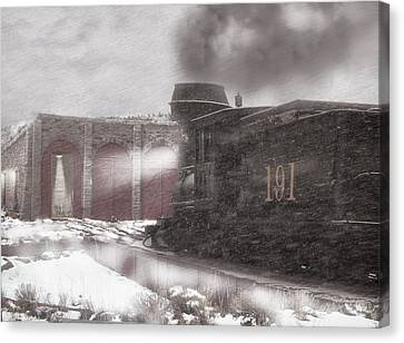 Time To Get In Canvas Print by Ken Smith