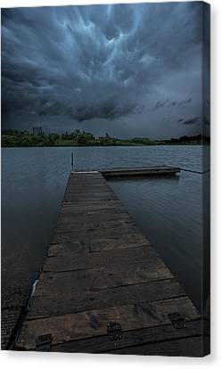 Time To Go Canvas Print by Aaron J Groen