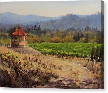 Time To Harvest Canvas Print by Karen Ilari