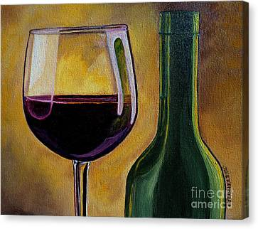 Time To Unwind Canvas Print by Julie Brugh Riffey
