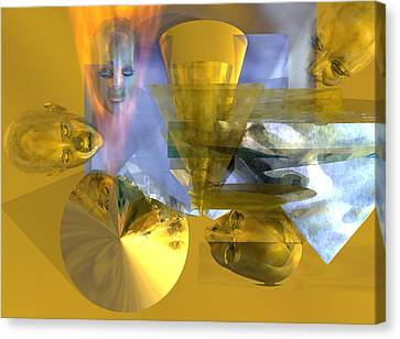 Time Travel #53_p Canvas Print by Stephen Donoho