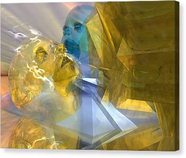 Time Travel #54_p Canvas Print by Stephen Donoho