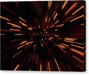Time Travel Canvas Print by Dan Sproul