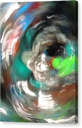 Canvas Print featuring the photograph Time Traveler by Mike Breau