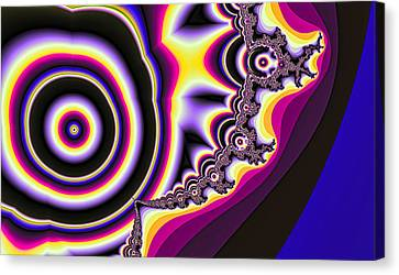 Time Warp Canvas Print by Betsy Jones