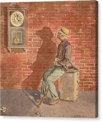 Time Watch Canvas Print by Tony Caviston