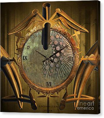 Time Will Move Forward Canvas Print