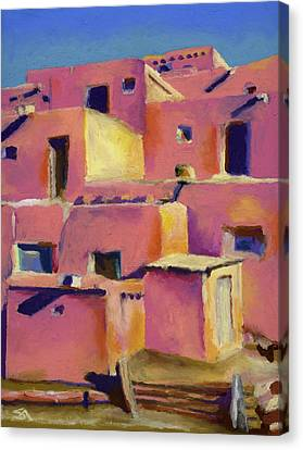 Timeless Adobe Canvas Print by Stephen Anderson