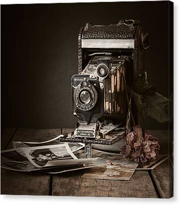 Classic Camera Canvas Print - Timeless by Amy Weiss
