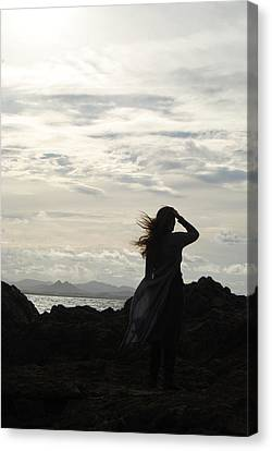 Canvas Print featuring the photograph Timeless Celtic Sky by Ankya Klay