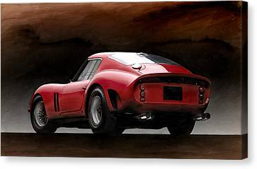 Timeless Ferrari Canvas Print by Peter Chilelli