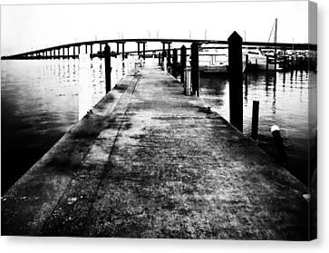 Timeless Harbor Photo Canvas Print by PhotoArtist PhotoArtist