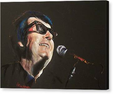 Roy Orbison Canvas Print - Timeless Roy by Peter Suhocke