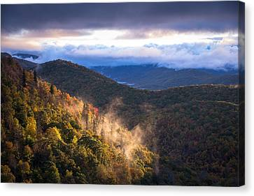 Canvas Print featuring the photograph Timeless Sunrise by Serge Skiba