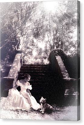 Canvas Print featuring the photograph Timeless by Yvonne Emerson AKA RavenSoul