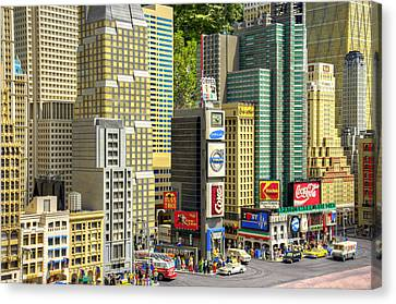 Times Square II Canvas Print