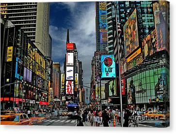 Times Square Canvas Print