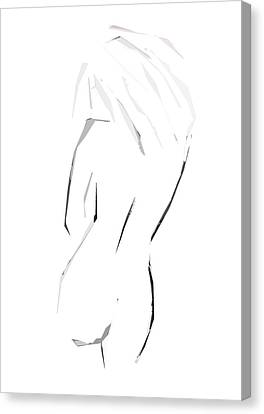 Timid Tammy Canvas Print by Empty Wall
