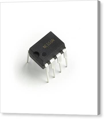 Photography Home Quality control of integrated circuit Canvas Wall Art Print