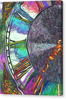 Timing Is Everything Canvas Print by Wendy J St Christopher